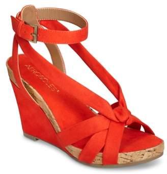 Aerosoles Fashion Plush Wedge Sandal