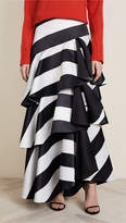 Alice + Olivia Floria Ruffle Ball Gown Skirt