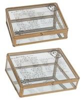 A&B Home Decorative Boxes - Set of 2