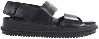 Givenchy Black Leather Sandals