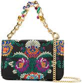 Emanuela Caruso fold over shoulder bag - women - Nylon - One Size