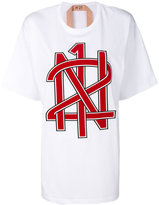 No.21 logo print T-shirt - women - Cotton - 36