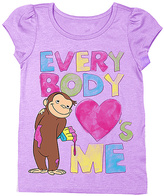 Freeze Curious George 'Everybody Loves Me' Tee - Kids
