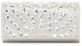 Jessica McClintock Chloe Metallic Jewel Clutch