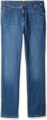 Lee Women's Size Tall Fit Rebound Slim Straight Jean