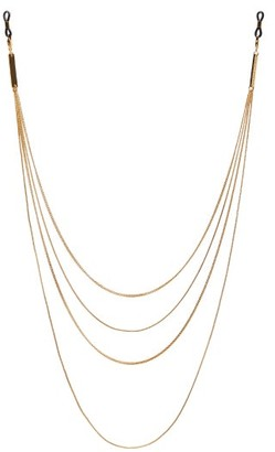 Frame Chain Ain't So Plain Jane 18kt Gold-plated Glasses Chain - Gold