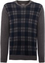 Peter Werth Plant Pattern Crew Neck Pull Over Jumpers