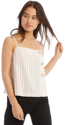 Milk and Honey Button Detail Cami