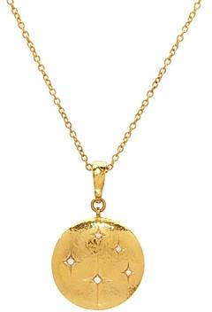 Gurhan 22K/18K Yellow Gold Diamond Starlight Pendant Necklace, 16-18