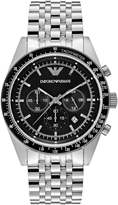 Emporio Armani Chronograph Watch Silvercoloured