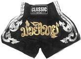 Classic Muay Thai Kick Boxing Shorts : Size M