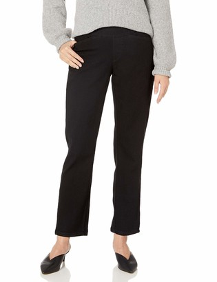 Chic Classic Collection Women's Easy Fit Elastic Waist Pull On Pant