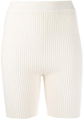Cashmere In Love Mira knitted biker shorts
