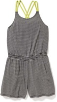 Old Navy Strappy Criss-Cross Romper for Girls