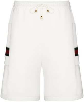 Gucci Web stripe track shorts