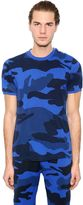 Hydrogen Military Camouflage Cotton T-Shirt