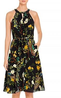 Kobi Halperin Mavis Floral Print A Line Dress
