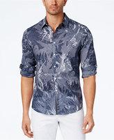 INC International Concepts Men's Foliage Print Shirt, Created for Macy's