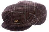 Jennifer Ouellette Houndstooth Newsboy Hat