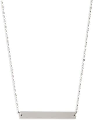 Knotty Bar Necklace