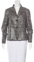 Max Mara Coated Tweed Jacket