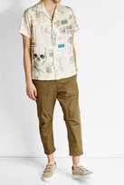 Alexander McQueen Printed Short-Sleeve Shirt