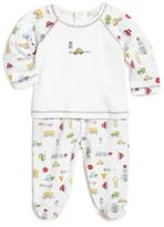 Kissy Kissy Baby's Two-Piece Automobile-Print Top & Footed Pants Set
