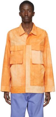 Jacquemus Orange La Chemise Soleil Shirt