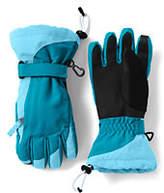 Lands' End Girls Squall Gloves-Green Parrot