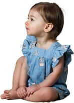 Thumbnail for your product : TINY TRIBE Aloe Print Frill Romper