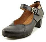 PIKOLINOS Segovia Women Round Toe Leather Black Mary Janes.