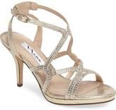 Nina Varsah Crystal Embellished Evening Sandal (Women)