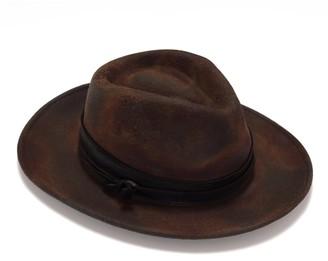 Justine Hats Unique Crafted Fedora Hat