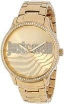 Just Cavalli r7253127508 mm Tone Steel Bracelet Mineral Women's Watch