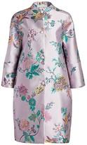 Etro Floral Brocade Opera Coat