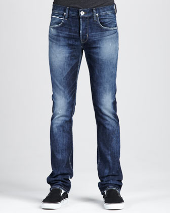 Hudson Byron Selvedge Jeans, Royce