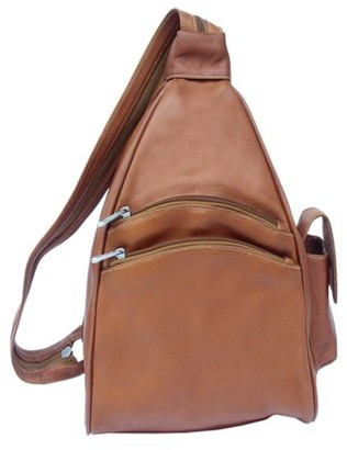 Piel Leather TWO-POCKET SLING