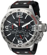 TW Steel Men's CS9 Analog Display Quartz Black Watch