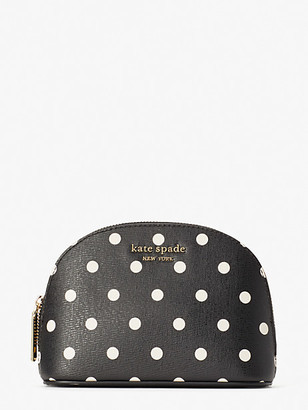 Kate Spade Spencer Cabana Dot Small Dome Cosmetic Case