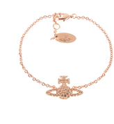 Vivienne Westwood Women's Grace Bas Relief Bracelet Light Peach