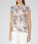 Reiss India Printed Top