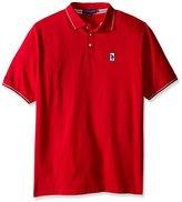 U.S. Polo Assn. Men's Big & Tall Solid Pique Polo Shirt