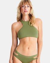 Seafolly Active Swim High Neck Tank Bikini Top