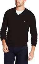 Lacoste Men's Classic Long Sleeve Cotton Sweater