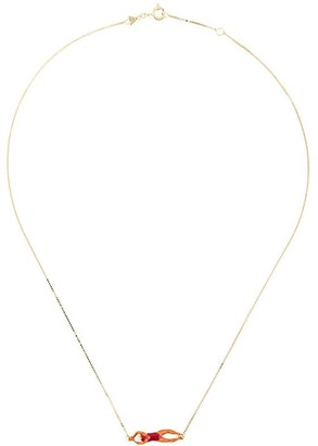 ALIITA 9kt Yellow Gold Swimmer Necklace