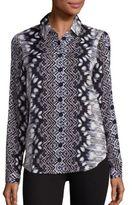 Tart James Printed Silk Shirt