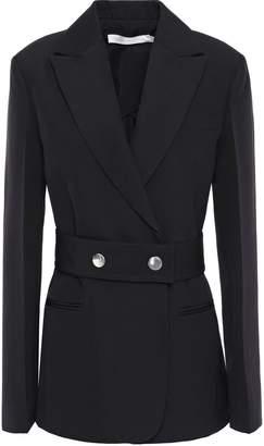 Victoria Beckham Belted Wool-twill Blazer