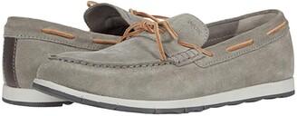 Geox Calarossa (Grey Suede) Men's Shoes
