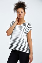 Beyond Yoga Bring It Ommmbre Striped Top