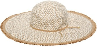 M&Co Straw floppy hat